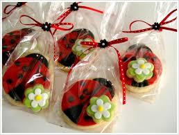 ladybug cookies a ladybug birthday cake