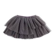 Gray And Gold Gray And Gold Dot Tiered Mesh Tutu Smocked Auctions