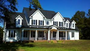 country farmhouse 3 story 5 bedroom home plan with porches southern house plan