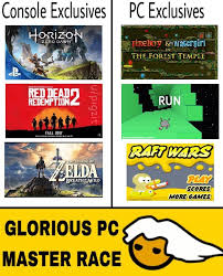 Pc Master Race Meme - parody pc master race memes on the rise as well as flash game