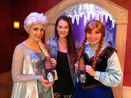 sasaki time elsa and anna from frozen get a visit from shoes by