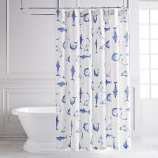Whimsical Shower Curtains Unique Ideas Whimsical Shower Curtain Cozy Blue Shark Shower Ideas