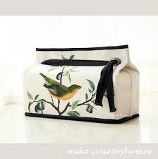 Birds Home Decor Chinoiserie Tissue Box Cover Home Decor Accessories R Atelier