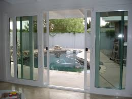 Best Sliding Patio Doors Reviews 4 Panel French Slider Open Position With No Grids One Of Our
