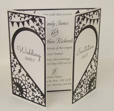 folded wedding invitations beautiful wedding invitations by lilylou you folded wedding