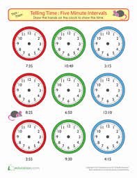 clock matching to 5 minutes game game education com