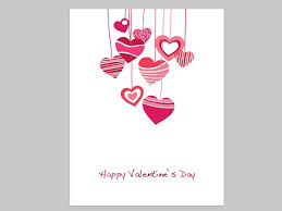 free valentines cards happy valentines day heart vector graphics free