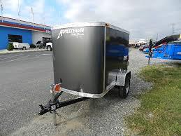 enclosed trailer exterior lights interior deck 44 w x 74 l rear door 38 w x 43 t interior height 48