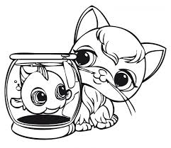 get this cute coloring pages of littlest pet shop 84610