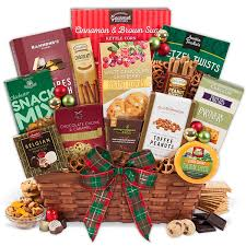 international gift baskets international christmas gift basket premium by gourmetgiftbaskets