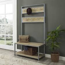 hall tree modern hall trees entryway furniture furniture the home depot