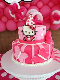 birthday party tema hello kitty image inspiration of cake and