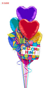 welcome home balloons delivery welcome home balloon bouquets delivery by balloonplanet