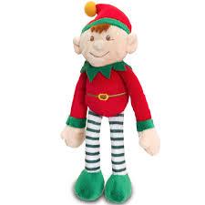 small santa u0027s elf plush toy red keel toys christmas elves that