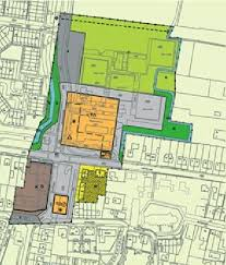 example of a physical planning map with two layers primary plan