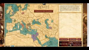 Map Rome Total War Rome 2 Interactive Campaign Planner Youtube