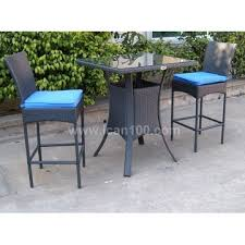 Rattan Bar Table Commercial Bar Table And Commercial Barstool Aluminum And Pe