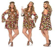Flower Power Halloween Costume Women U0027s Hippie Leg Avenue Costumes Ebay