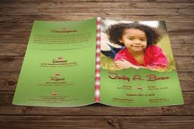 sle of funeral programs trifold brochure by zaas thehungryjpeg