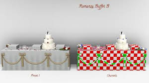 Wedding Cake In The Sims 4 Mod The Sims Dream Wedding Cakes