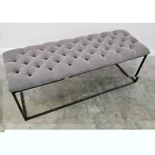 furniture u0026 accessories diy bedroom bench with tufted seat duct