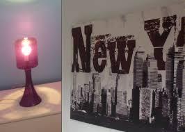 chambre theme new york indogate com housse poursalon marocain moderne