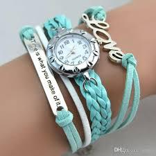 weave wrap bracelet images Hot new infinity watches weave bracelet watches lady wrap watches jpg
