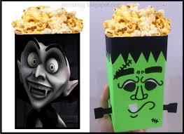 annazing diy halloween craft for kids popcorn box