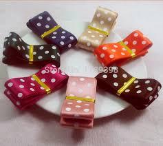 wide satin ribbon free shipping 1 inch 25mm 2 5cm wide satin ribbon polka dots diy