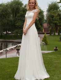casual beach wedding dress with sleeves dress images