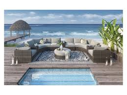 Outdoor Sectional Sofa Signature Design By Dew Large Outdoor Sectional Sofa