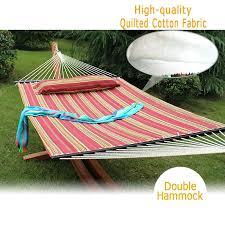 hammocks for heavy people heavy duty quilted fabric double hammock
