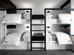 bedroom modern bunk beds for modern kids bedroom design and dark