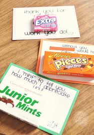 appreciation sweet notes great idea for appreciation day for