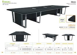 Black Boardroom Table Black Boardroom Table Manufacturer In China By Guangzhou Libra