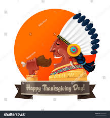 picture of a cartoon turkey for thanksgiving cartoon native american eating turkey leg stock vector 329893559