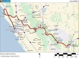 Yosemite Topo Map Kalifornien 2001 Familie Becker Feldmann