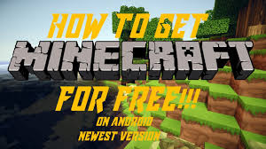 minecraft pe free android how to get minecraft pe for free on android version