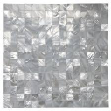 self adhesive kitchen backsplash art3d self adhesive of pearl shell mosaic peel and stick