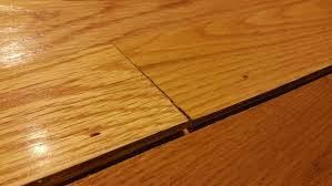 water damage hardwood floor split and bulge home improvement