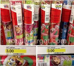 christmas wrapping paper target printable coupon 1 1 spongebob or wrapping paper target
