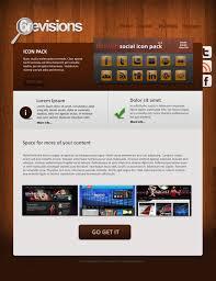 free psd template 6r wooden portfolio