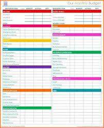 household monthly budget template eliolera com