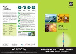 ks4 kirloskar brothers ltd pdf catalogue technical
