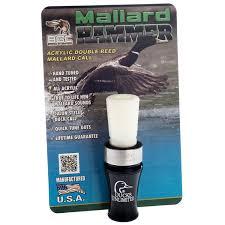 buck gardner ducks unlimited mallard hammer double reed duck call