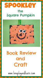 this is a fun pumpkin craft for kids that goes with the book