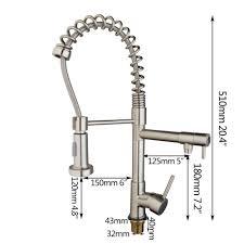 online shop yanksmart kitchen faucet nickel brushed vessel sink