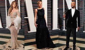 Vanity Row Clothing Vanity Fair U0027s Epic Oscar Party All The Inside Dish Daily Front Row