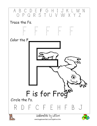 8 best images of free printable alphabet worksheets letter f