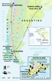 Patagonia Map Patagonia U0026 Easter Island Holiday Small Group Helping Dreamers Do
